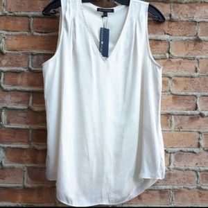 NWT BR Satin Lined Sleeveless Blouse